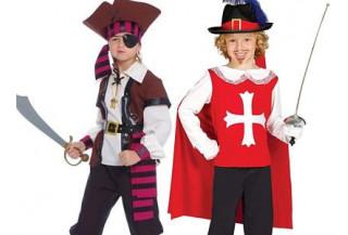 Disfraces Piratas y Mosqueteros Niño