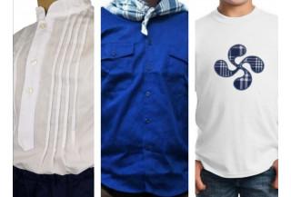 Camisas y Camisetas regionales Niño