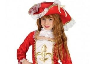 Disfraces de Mosqueteros para Niñas