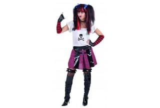 Disfraces de Rock y Punk para Mujer