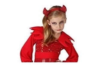 Disfraces de Angeles y Demonio para Niñas
