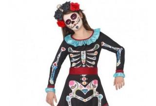 Disfraces de Esqueleto para Niñas
