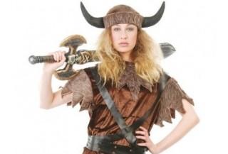 Disfraces de Vikingos para Mujer