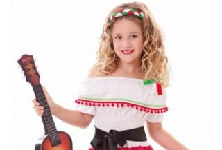 Disfraces de Mexicana para Niñas