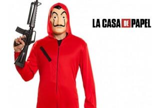 Disfraces Convicto Rojo Adulto