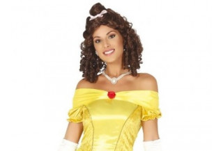 Disfraces de Princesa Amarilla Adulto