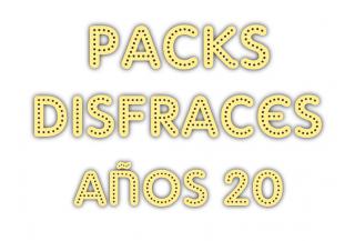 Packs Disfraces Años 20