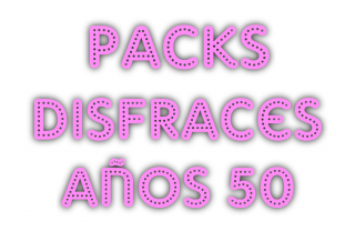 Packs Disfraces Años 50