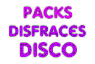 Packs Disfraces Disco
