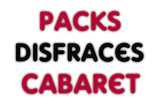Packs Disfraces Cabaret