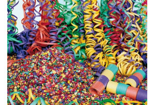 Confetti y Serpentinas