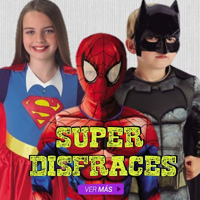 disfraces super heroes